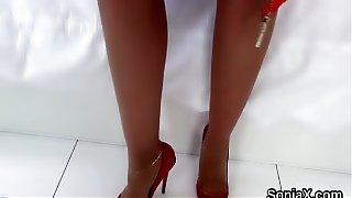 Unfaithful british mature lady sonia shows her g
