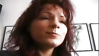 porno movies Sexy MILF in Boots & Mini strips first time in front of cam