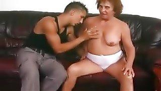 free sex tube German Granny Izadora With Boy