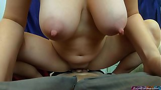 Your best friend's mom wants to have sex with you to get back at her husband who cheated (POV) - Erin Electra