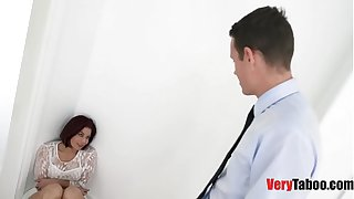 Son Fucks Stepmom before Dad Ever Could