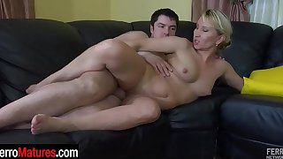 Slutty milf shagged right in her shiny pantyhose leaves them as a keepsake