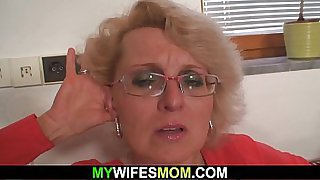 Angry wife finds out mom and boyfriend fucking