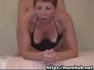 Step mom enjoys first anal sex (Full: )