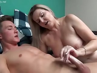 Mature Mom Teaching Her Son How To Properly Masturbate FULL