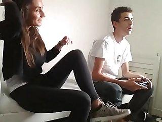 Fucking horny Teen in my Room