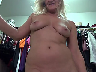 American older mother mary with awesome body